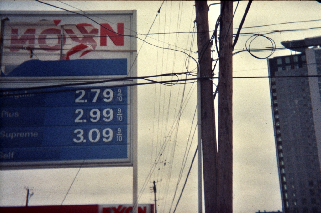 Exxon should have fixed this sign back in the 70s when I took this pic.