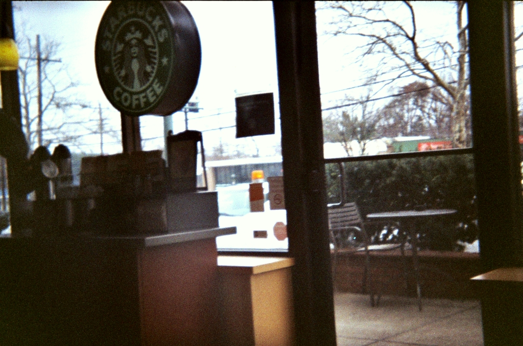 Starbucks, 1976 or 2010